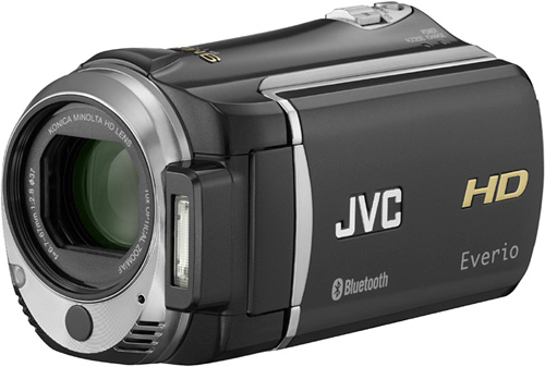 JVC Everio HD Camcorder (Image courtesy JVC)