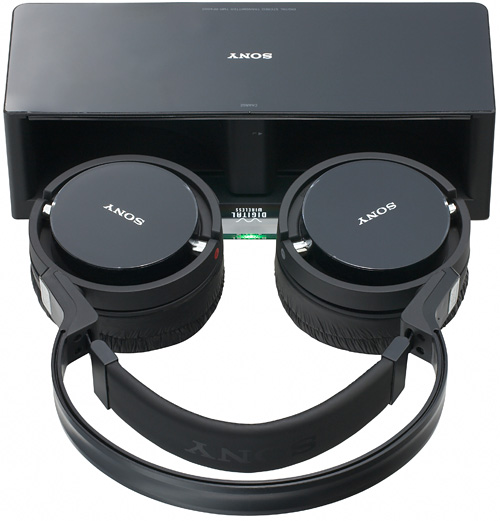 Sony MDR-RF4000K Wireless Headphones (Image courtesy Sony)