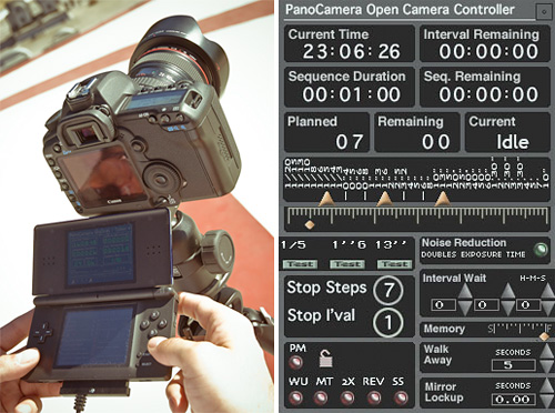 Open Camera Controller (Images courtesy HDR Labs)