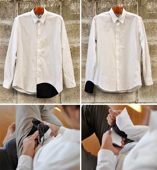 Wipe Shirt (Images courtesy Mitsubai)