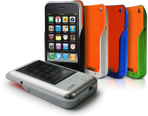 Novothink Solar Surge iPhone & iPod Touch Charging Case (Image courtesy Novothink)