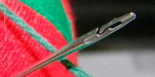 Spiral Eye Needle (Image courtesy Pam Turner)