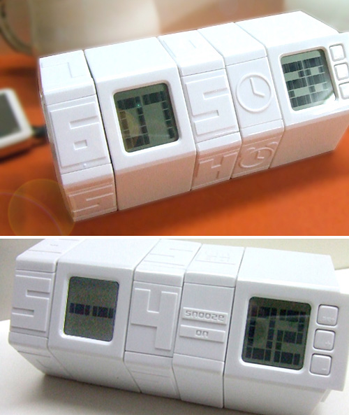 Twist Alarm Clock (Images courtesy D-Forme)