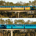 Cool! Disney World To Promote Tron Legacy By Transforming Their Monorails Into Light Cycles
