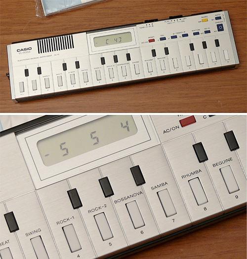 Casio VL-10 VL-Tone Mini Synthesizer Keyboard (Images courtesy MATRIXSYNTH)