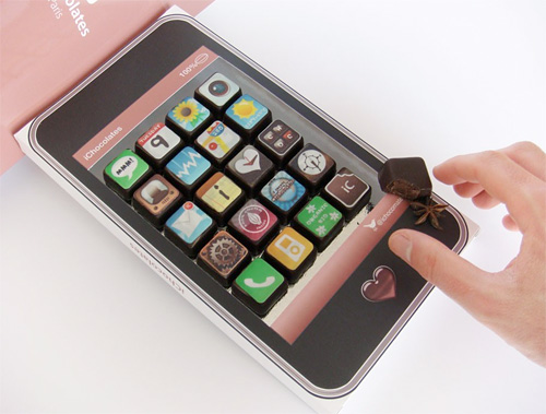 iPhone App Chocolates (Image courtesy iChocolates)