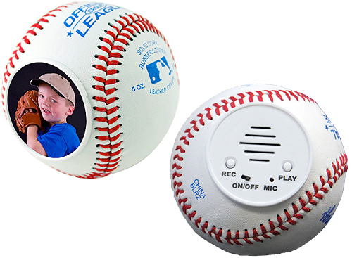 Rawlings Recordable Autograph Ball (Images courtesy TYNKE)