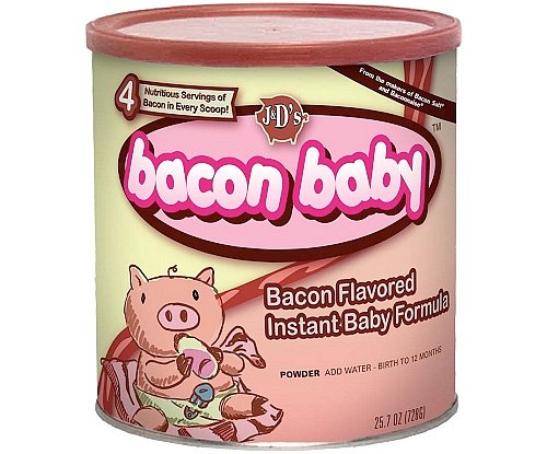 Bacon Baby Infant Formula (Image courtesy J&D's)