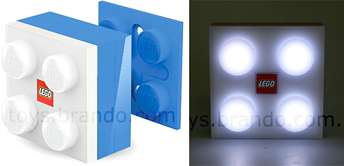 LEGO 2x2 Brick LED Light (Images courtesy Brando)