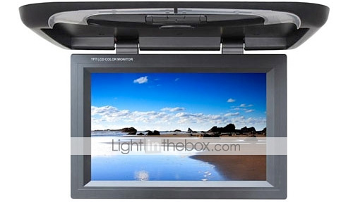 22-inch Flip Down Car Monitor Player (Image courtesy Lightinthebox.com)