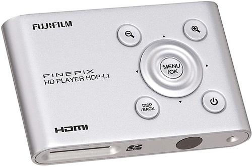 Fujifilm Finepix HD Player (Image courtesy Fujifilm)