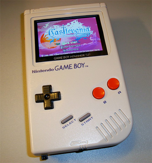 Game Boy Advance Game Boy (Image courtesy CRTdrone)