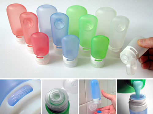 GoToob Travel Bottles (Images courtesy humangear)
