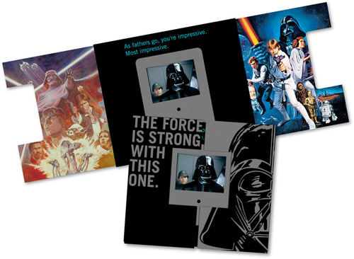 Hallmark Star Wars Video Greeting Cards (Image courtesy StarWars.com)
