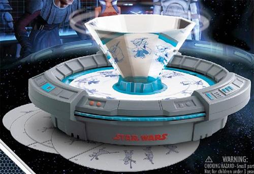 Star Wars Holographic Animation Lab (Image courtesy BigBadToyStore)