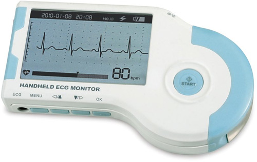 Home EKG Monitor (Image courtesy Hammacher Schlemmer)