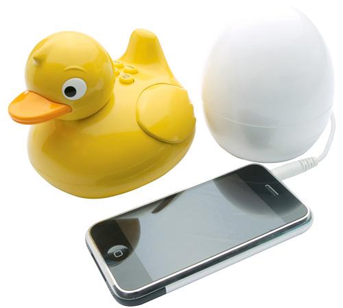iDuck Wireless Speaker (Image courtesy BB Trade Sales)