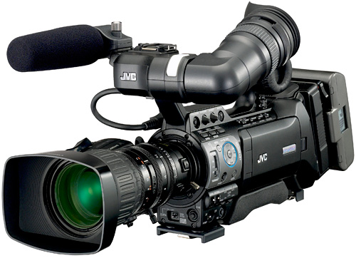 JVC GY-HM790 PROHD Camcorder (Image courtesy JVC)