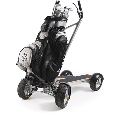 Mantys Golf Scooter (Image courtesy LEEV Mobility)