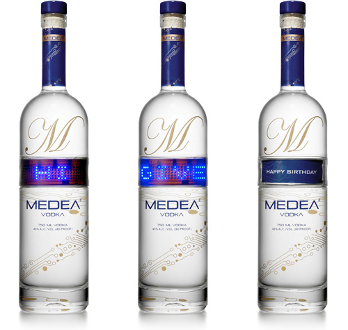 Medea Vodka (Image courtesy Medea Spirits)