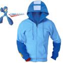 Mega Man Concept Hoodie With Pew Pew Blaster Sleeve