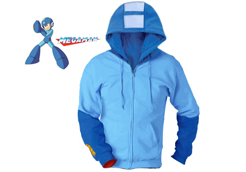 This Mega Man hoodie will make you the talk of the town - Gaming News
