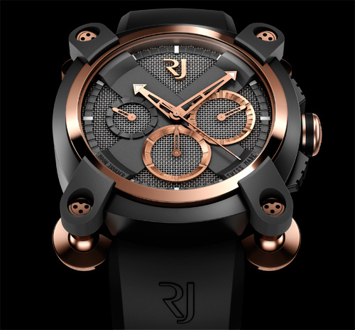 Moon Invader Watch (Image courtesy Romain Jerome)
