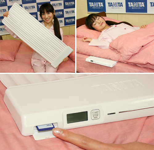 Tanita Sleep Scan Mat (Images courtesy Kaden Watch)