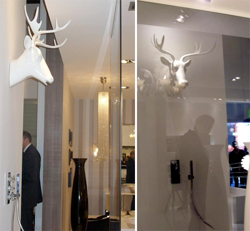 Deer Stag Shower Head (Images courtesy Freshome)