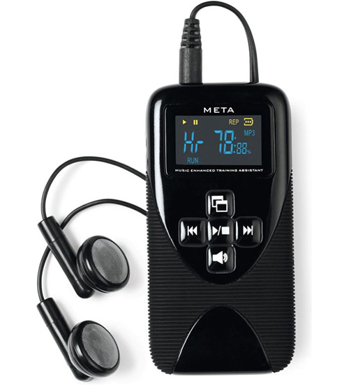 Talking Heart Rate MP3 Player (Image courtesy Hammacher Schlemmer)
