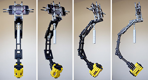 LEGO Technics iPhone Steadicam (Image courtesy Babyology)