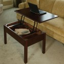 Convertible Coffee Table Turns Into A Desk