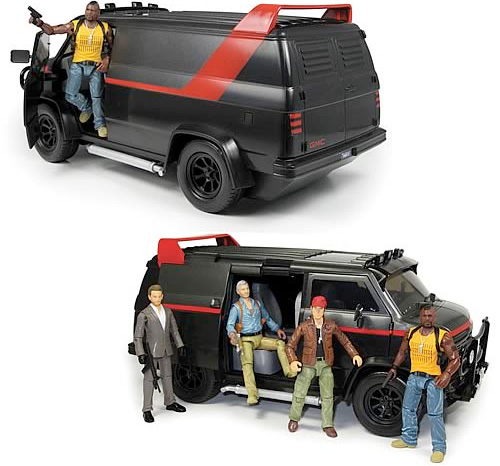 A-Team Classic Van Toy (Image courtesy Entertainment Earth)