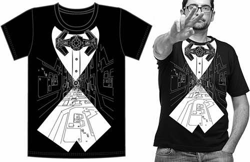 Bow TIE Tuxedo Shirt (Image courtesy the StarWarsShop)