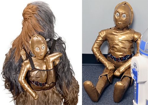 C-3PO Bespin Backpack (Images courtesy ThinkGeek)