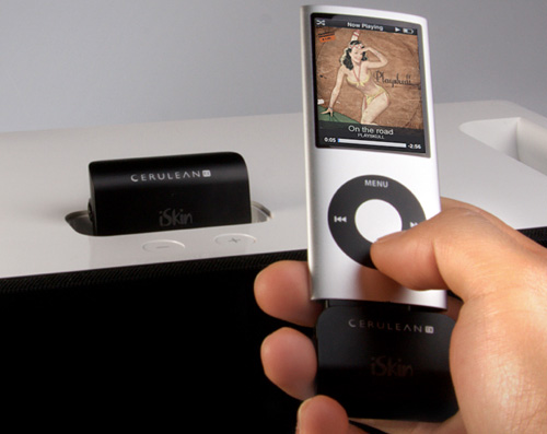 CERULEAN RX Stereo Bluetooth Receiver (Image courtesy iSkin)