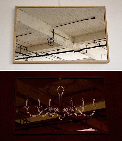 Chandelier Mirror (Images courtesy Designers Anonymous)