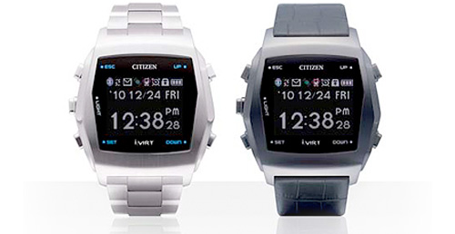 Citizen I:Virt M series TM84-0351V and TM84-0352V (Image courtesy Citizen)