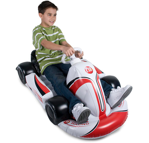 Inflatable Racing Kart for Wii (Image courtesy CTA Digital)