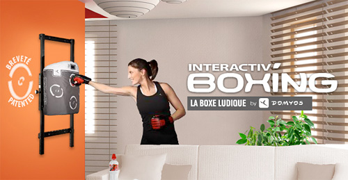 Interactiv' Boxing (Image courtesy Domyos)