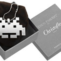 "Christofle Silver Space Invader ""Fashion Accessory"""
