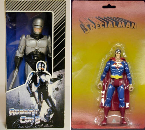 Foreign Knockoff Toys (Images courtesy Geekstir)