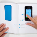 Out Of The Box Instruction Manual Concept Puts The Smartphone Front And Center