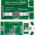 Ramiro Pareja Veredas' PCB Business Card Wins Card Of The Day
