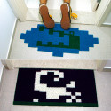 Pitfall Crocodile And Scorpion Pixelated Doormats