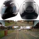 Reevu Helmets Feature A Rearview Mirror In The Visor