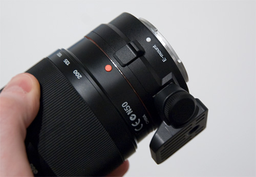 Sony NEX-5 & NEX-3 (Image property OhGizmo!)
