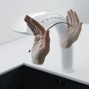 Spatial Interaction Faucet Works Without Touching