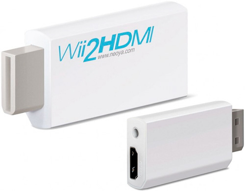 Wii2HDMI Adapter (Images courtesy Neoya)