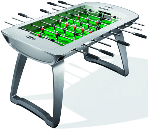 Audi Design Foosball Table (Image courtesy Autoblog)